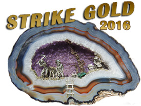 2016 Strike Gold, CFMS Rock & Gem Show & Convention